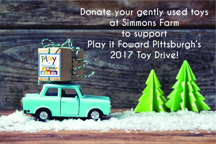Simmons Farm Toy Drop Location