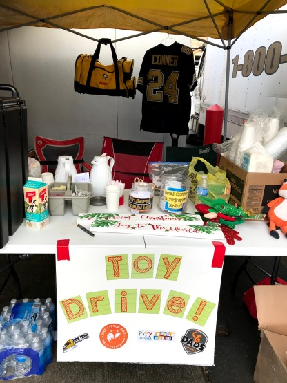 toy donation table